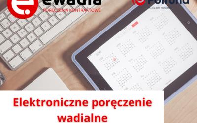 Zamień wadium w gotówce na elektroniczne poręczenie wadialne!